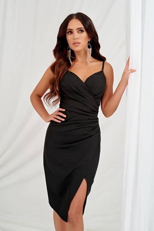 Krótka Sukienka Laura II- czarny