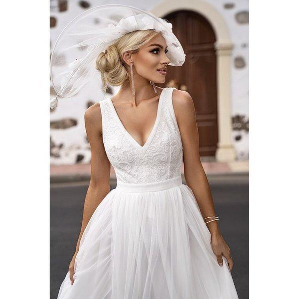 Sukienka Charlotte -biały