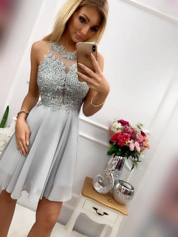Sukienka BUGATTI krótka- szara