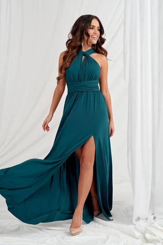 Sukienka Katia- zielony