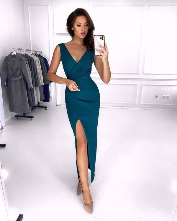 Sukienka Laura- zielony